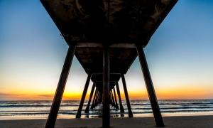 Pier Sunset 2014