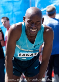 Bernard Lagat American record holder of the Carlsbad 5000