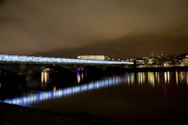 Night Lights, London Thames