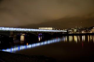 Night Lights, London Thames
